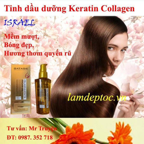 Tinh dầu dưỡng tóc gatase